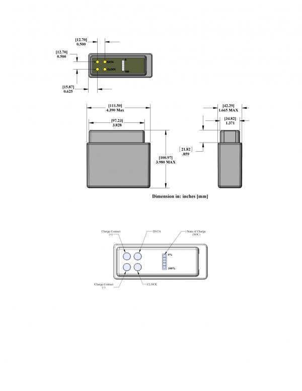 PB-LW-02-NC Land Warrior Battery Drawing